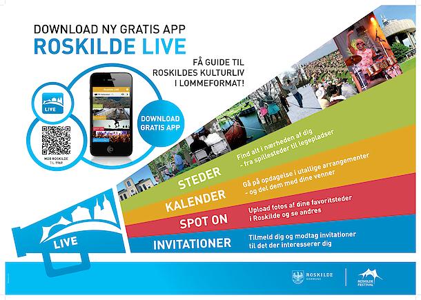 Reklame for Roskilde LIVE